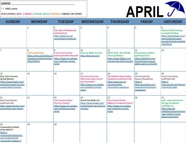 Arts & Letters - April 2019 Calendar - Hi-Res.JPG