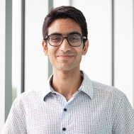 Hello! My name is Monish Ahluwalia, and I am a second year (2T3) medical student at UofT and one of the Senior Leads for the Improv' Troupe. I did improv' for 4 years in undergrad, and while it can be intimidating, you're always with such a great group and you end up laughing for about 2 hours straight. In terms of other arts, I play the bass and electric guitar, I have written a couple completely unpublishable short stories, and I can draw a pretty wicked giraffe. - Monish Ahluwalia